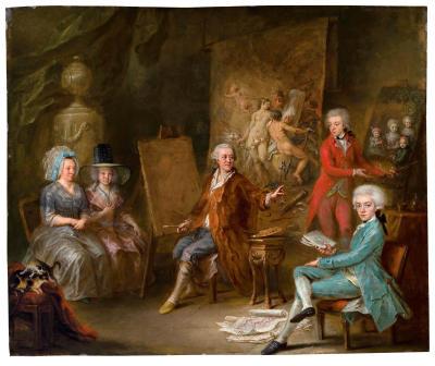 75 kunstaukti 75 kunstauktion alte meister gem lde 19 jahrhundert klassische moderne. Black Bedroom Furniture Sets. Home Design Ideas