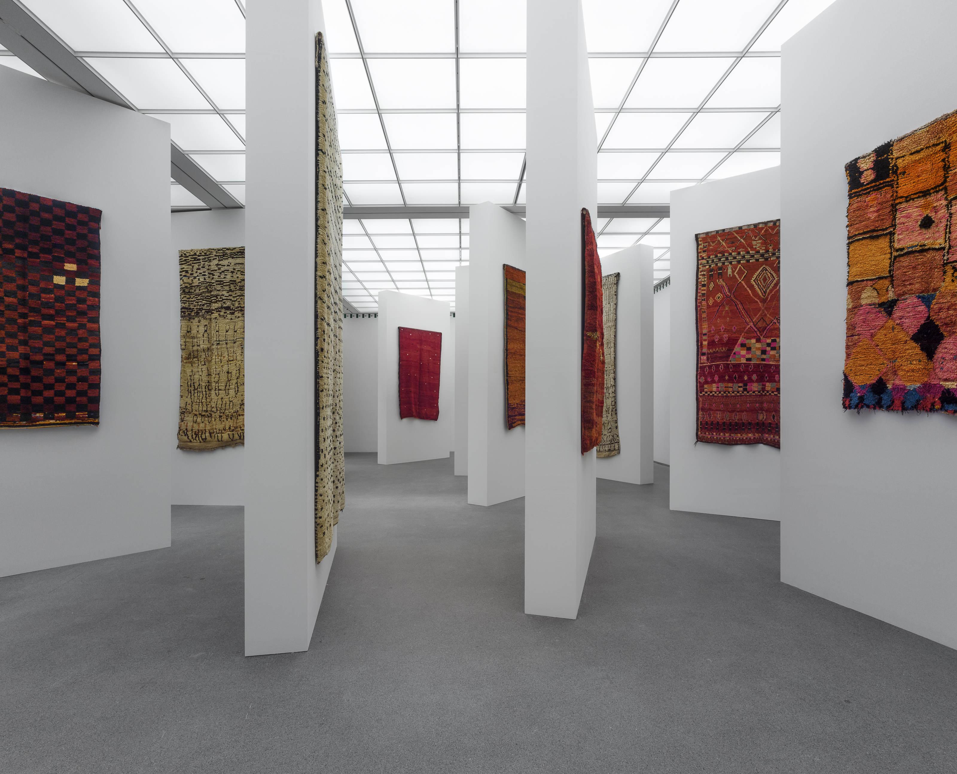 Nomaden marokkanische teppiche und die kunst der moderne for Kunst der moderne
