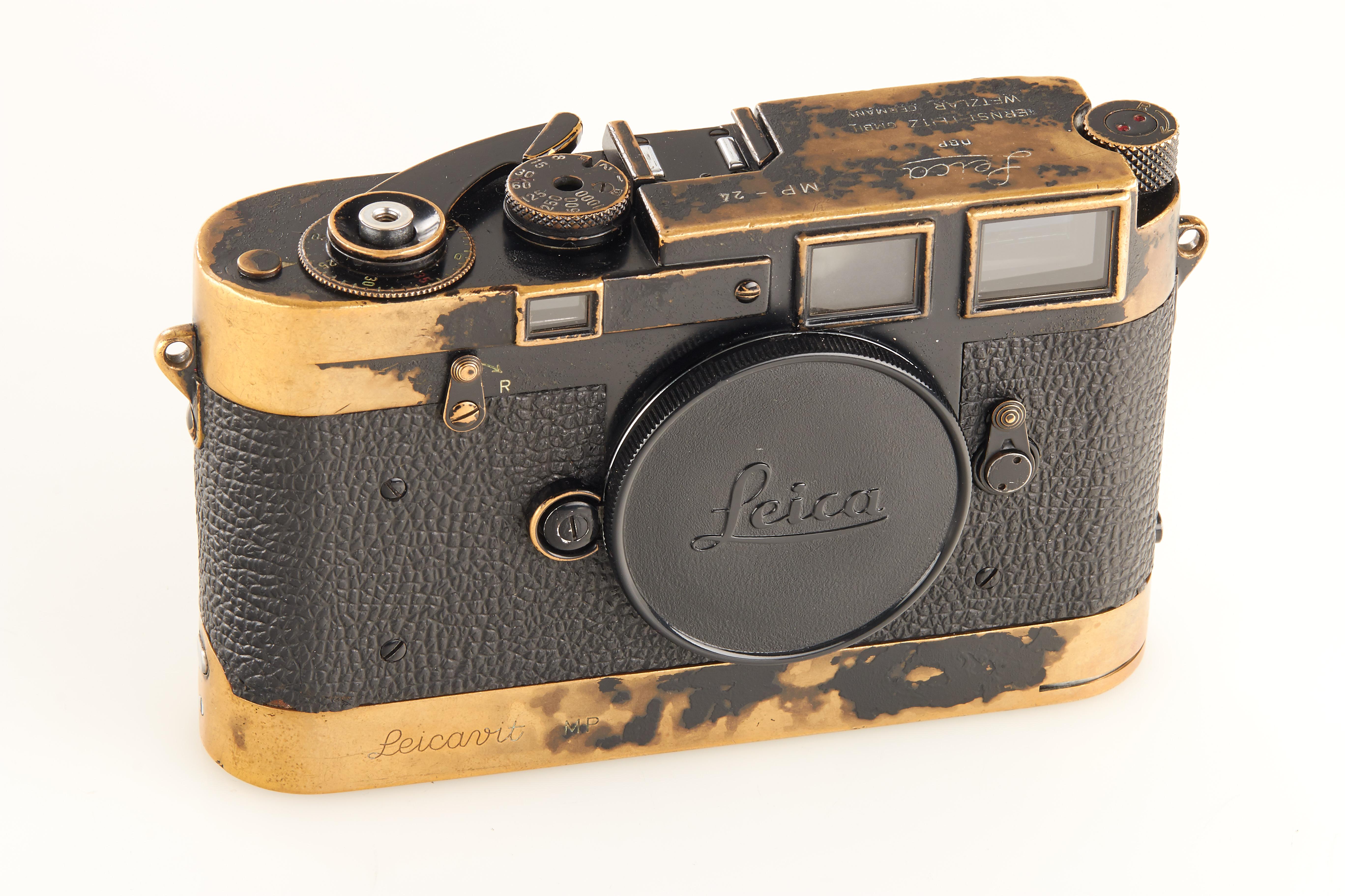 Leica M Black Paint