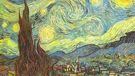 gogh vincent willem van sternennacht impressionismus das gemlde sternennacht von vincent willem van - Van Gogh Lebenslauf
