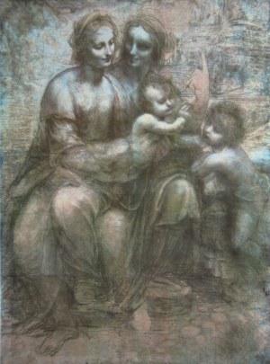 madonna mit kind hlanna und johannes der tufer national gallery london bildmaterial reisserbilderat leonardo da vinci 1452 1519 - Leonardo Da Vinci Lebenslauf