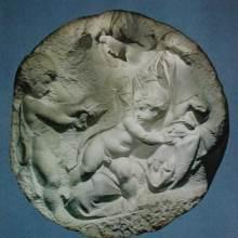 michelangelo buonarroti 1475 1564 madonna mit kind und hljohannes marmor relief the - Michelangelo Lebenslauf