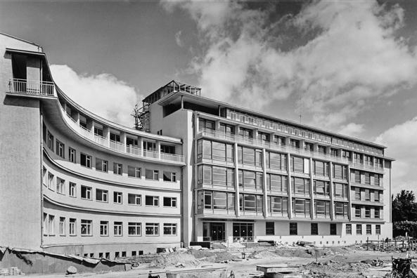 akademie der künste, berlin | otto bartning - architekt