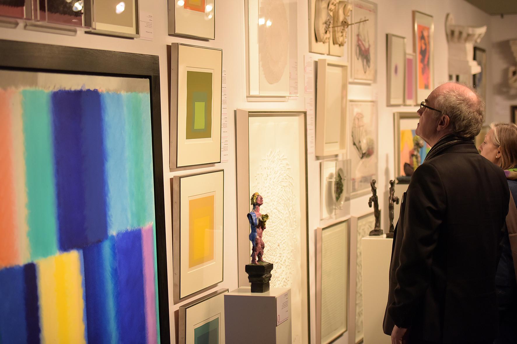 Zeitgenössische Kunst   Rund 8.000 Besucher auf den Kunst- und ...