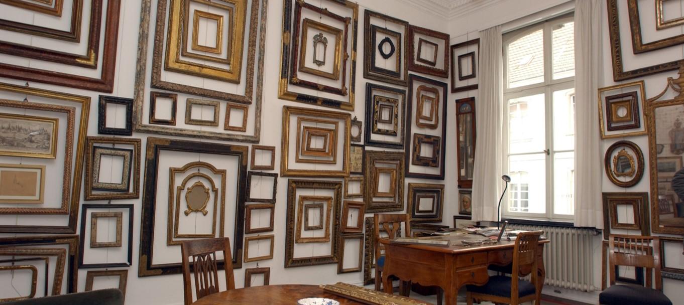 antike bilderrahmen | 14. auktion antiker rahmen bei conzen in