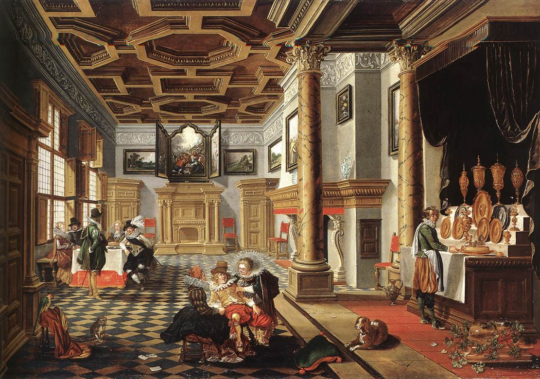 Interieur barock  Möbel, Mobiliar: Renaissance - Kunst - Geschichte