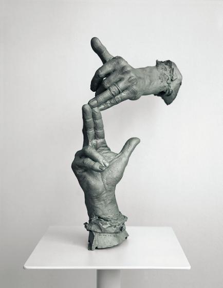 Bruce nauman sculpture
