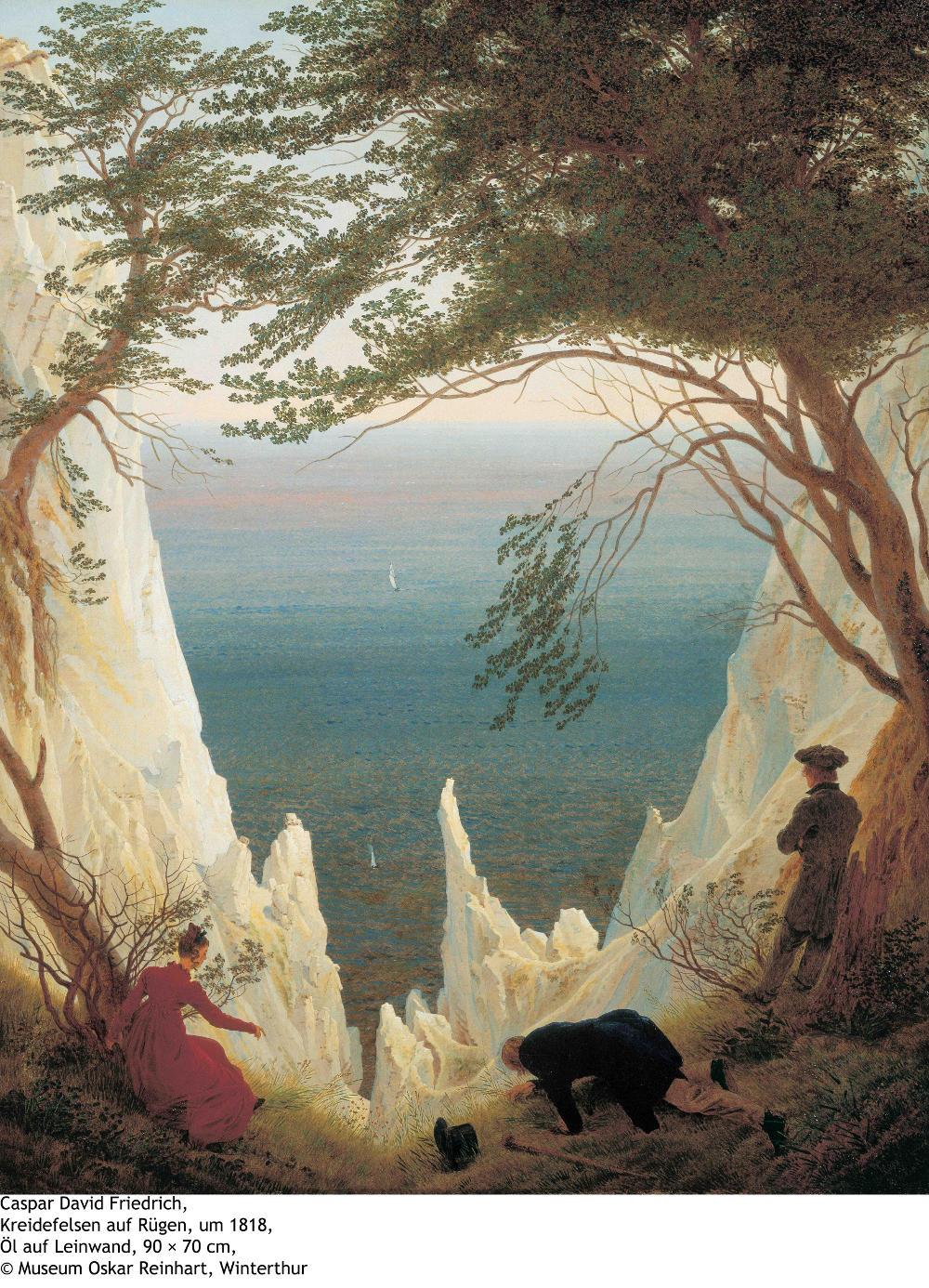 Landschaftsmalerei romantik friedrich  Malerei | Dahl und Friedrich - Romantik - Landschaften - Bilder ...