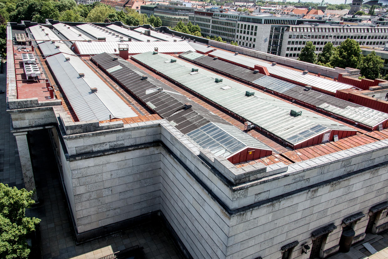 David chipperfield sanierung des haus der kunst for Modernes haus ohne dach