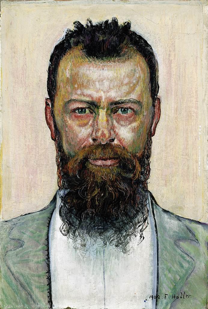 Ferdinand Hodler (1853-1918): Selbstbildnis, 1900, Staatsgalerie Stuttgart - hodler_selbstbildnis_1900