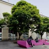 Architekturzentrum Wien Hofansicht © Hertha Hurnaus