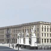 Ansicht von der Nord-West-Seite Ι View of the Berlin Palace from the northwest s