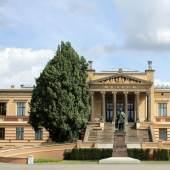 Blick auf Museum . © Staatliches Museum Schwerin, Foto: Maik Fiedler.