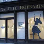 Eingang zur der Galerie Hofkabinett (c) hofkabinett.at