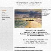 Unternehmenslogo Ahrenshooper Kunstauktionen