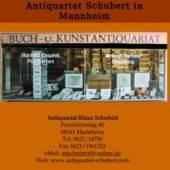 Unternehmenslogo Antiquariat Klaus Schubert