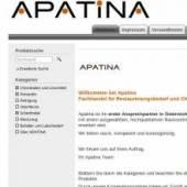 Apatina - Fachhandel für Restaurierungsbedarf und Chemikalien