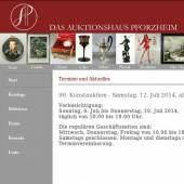 Unternehmenslogo Pforzheimer Auktionshaus