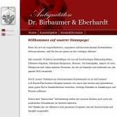 Dr.Birbaumer & Eberhardt OHG, Dr. Stefan Birbaumer