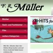 Unternehmenslogo Buchhandlung und Antiquariat F. R. Müller