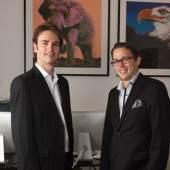 Christian Gschwandtner und Christoph Haas (c) 2cforart.at