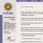 Unternehmenslogo CUPURI Versandantiquraia & Verlag