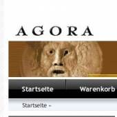 Unternehmenslogo AGORA - Marktplatz der Antike
