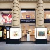 Das Team der Galerie bei der Albertina (c) galerie-albertina.at