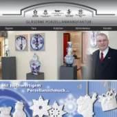 """Porzellanfabrik Tettau GmbH, Betriebsstätte """"Gläserne Porzellanmanufaktur"""""""