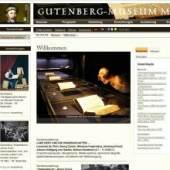 Das Gutenberg-Museum Mainz. Museum für Druck-, Buch- und Schriftgeschichte aller Kulturen.