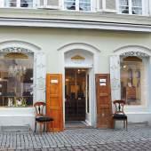 Aussenansicht vom Laden in der Innenstadt (c) biedermeier.com