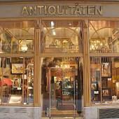 Ansicht dem Ladengeschäft Kunsthandel Sma (c) srna.at
