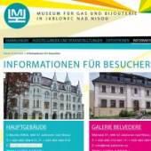 Unternehmenslogo MUSEUM FÜR GLAS UND BIJOUTERIE
