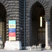 Unternehmenslogo MUSA Museum Startgalerie Artothek