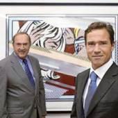 Zwei Generationen: Firmengründer Pierre Koller und Cyril Koller.