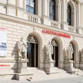 Rupert Steiner Außenansicht, Albertina Moderne Karlsplatz