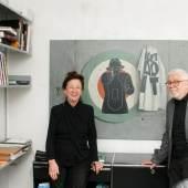 Porträt Werner Vayhinger, Helena Vayhinger (c) galerievayhinger.de
