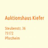 Buchauktionen Antiquariat KIEFER