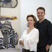 Porträt von Eva-Maria Becher und Robert Kastowsky (c) bechterkastowsky.com