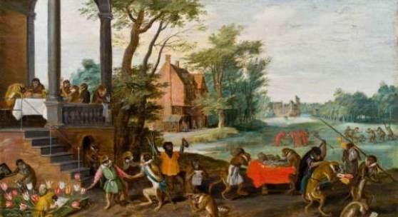 Jan Brueghel d. J. (Antwerpen 1601–1678 ebd.) Allegorie der Tulipomanie € 25.000 - 50.000