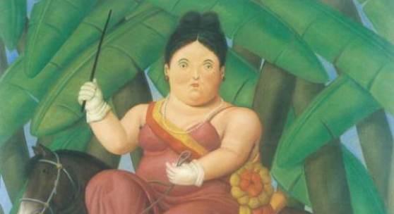 Fernando Botero Die First Lady, 1989 Öl/Leinwand, 203 x 165 cm Privatbesitz