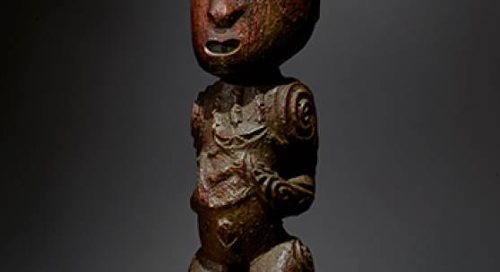 Maori Gable Figure (Tekoteko), New Zealand