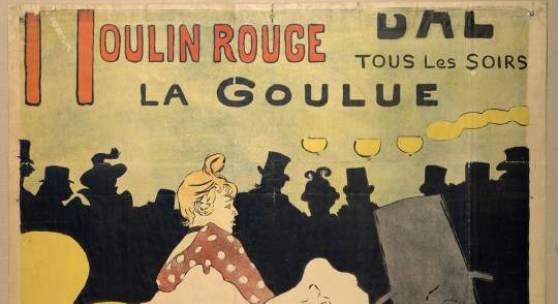 Henri de Toulouse - Lautrec Moulin Rouge, La Gou lue , 1891 Albertina, Wien