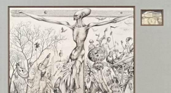 Kat.Nr. 69 Ernst Fuchs, Golgatha € 100.000 - 150.000