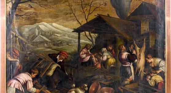 Jacopo Bassano Werkstatt: Allegorie - Der Winter