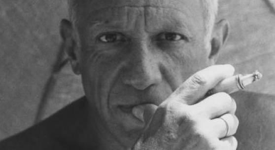 Willy Maywald, Porträt von Pablo Picasso, 1947 © VG Bild-Kunst, Bonn 2015