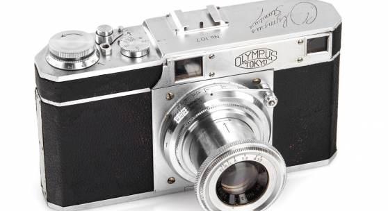 Los 398 Olympus Standard Prototype, 1937 Schätzpreis: 35.000–40.000 Euro, Ergebnis: 54.000 Euro