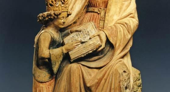 Süddeutsch, Anna selbdritt mit lesender Maria, Anfang 16 Jh. © Suermondt- Ludwig-Museum, Foto: Anne Gold, Aachen