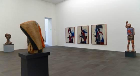 Markus Lüpertz, Installationsansicht MKM, © VG Bild-Kunst, Bonn 2018, Foto: MKM/E. Juran