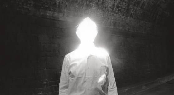 Duane Michals, The Illuminated Man, 1968© Duane MichalsCourtesy Galerie Clara Maria Sels / Admira Milan
